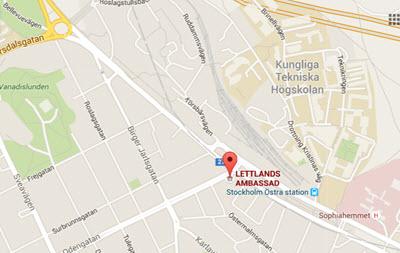 lettlands ambassad - Ambassad