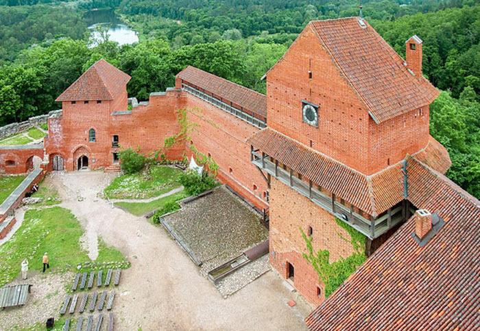 turida slott lettland - Lettland